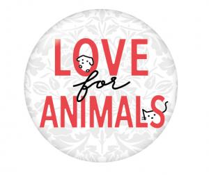「LOVE for ANIMALS」丸いロゴマーク