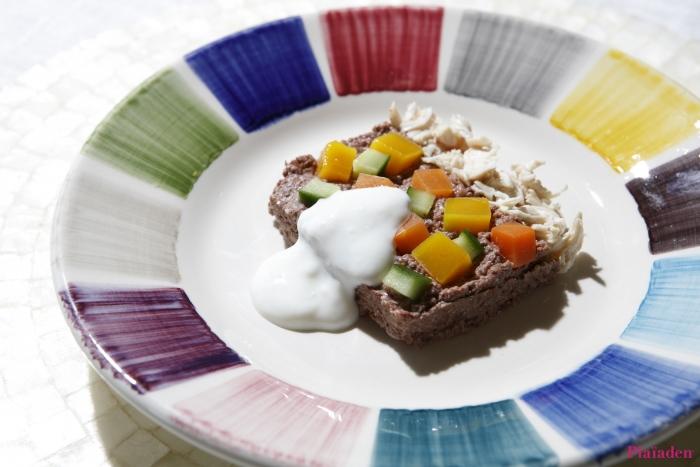 愛猫の夏バテ予防に!「鹿肉と野菜のテリーヌ ヨーグルトソース」 for Cat