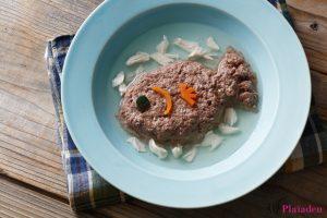 プレイアーデン猫用アレンジレシピ「チキンづくしの贅沢スープ」