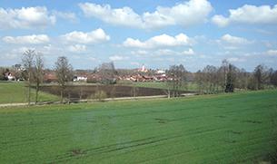ドイツの広大な緑